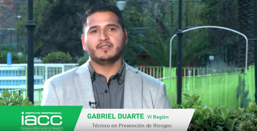 Testimonio Gabriel Duarte - Instituto Profesional IACC
