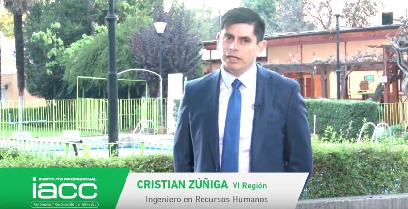 Testimonio Cristian Zuñiga - Instituto Profesional IACC