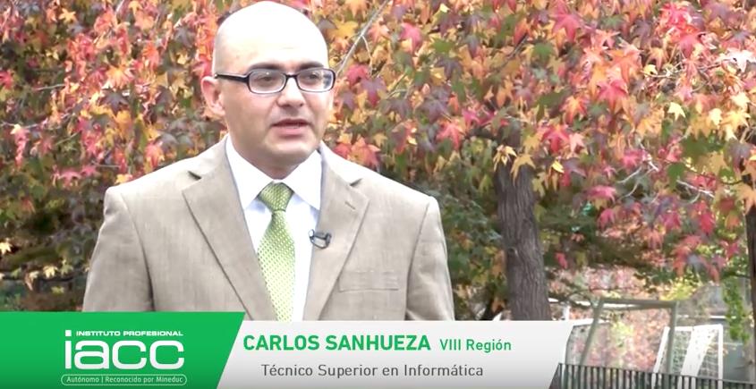 Testimonio Carlos Sanhueza - Instituto Profesional IACC