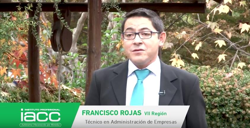 Testimonio Francisco Rojas - Instituto Profesional IACC